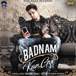 Badnam Kar Gyi cover mp3
