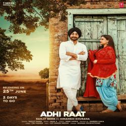 Adhi Raat cover mp3