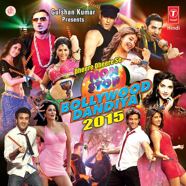 Dheere Dheere Se Non Stop Bollywood Dandiya 2015 - Atif Aslam,Anu Malik