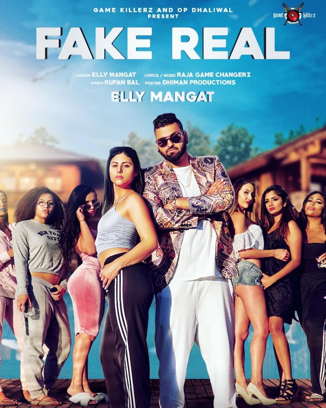 Fake Real - Elly Mangat